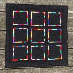 Snug Harbor Quilts: Modern Mini Quilt Challenge 2017 - Stepping Stones