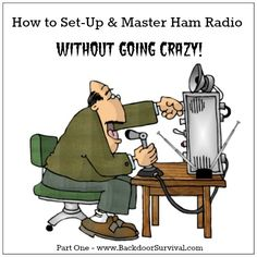 """"""" On April 18th, I will be taking the test to get my Technician Class HAM radio license. This is something I have been meaning to do for quite some time b"""