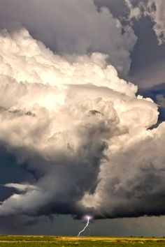 Tumblr             expressions-of-nature: Prairie Storm Clouds  /  Saskatchewan Canada  /   Mark Duffy