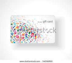 stock vector : Beautiful gift card, vector illustration.