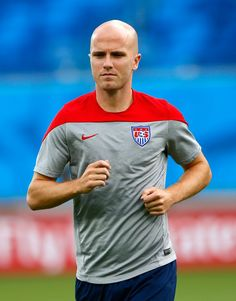 Pin for Later: Meet the Soccer Studs Playing For the USA Michael Bradley  Age: 26 Hometown: Manhattan Beach, CA Team: Toronto FC