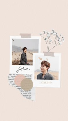 Exo wallpaper Polaroid Frame Png, Polaroid Collage, Canvas Collage, Bts Aesthetic Wallpaper For Phone, Aesthetic Wallpapers, Instagram Story Template, Instagram Story Ideas, Beige Aesthetic, Aesthetic Art