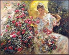 By Jose Royo, 1941 - Spanish Impressionist painter