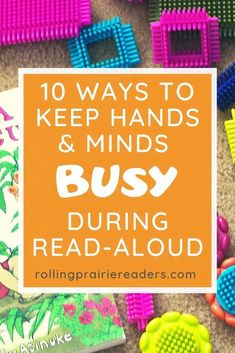 If you have a tactile or kinesthetic learner, you will love these simple activities to keep kids quiet during read aloud time. #totschool #preschoolathome Preschool At Home, Preschool Kindergarten, How To Start Homeschooling, Homeschooling Resources, Read Aloud Books, Teaching Reading, Teaching Tips, Tot School, Learning Through Play