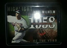 2015 Topps Update Highlight of the Year #m Hoyt Wilhelm H-70 Baltimore Orioles in Sports Mem, Cards & Fan Shop, Cards, Baseball | eBay