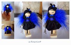 doll brooch  jewelry doll Paris
