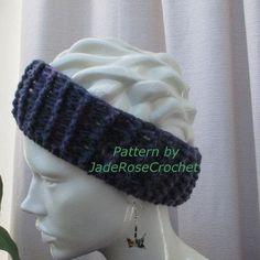 Headband Crochet Pattern Earwarmer Crochet Pattern Ribbed