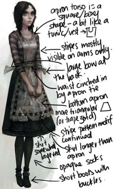 Alice Madness Returns IV (i feel like this can be transformed into any sort of character costume!)