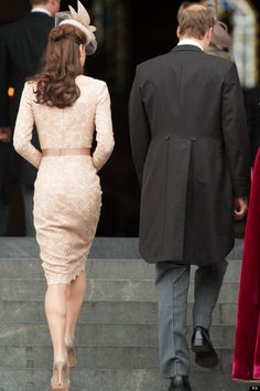 Alexander McQueen - Duchess of Cambridge Kate Middleton Second Alexander McQueen Dress Of The Jubilee Weekend