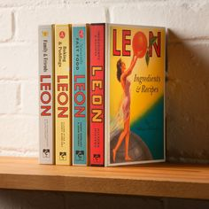 Leon: I love the restaurant and the cook books are great. Restaurant Branding, Cookbook Design, Fast Healthy Meals, Book Nooks, Print Logo, Coffee Shop, How Are You Feeling, My Love, Restaurants