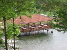 restaurant boven het water