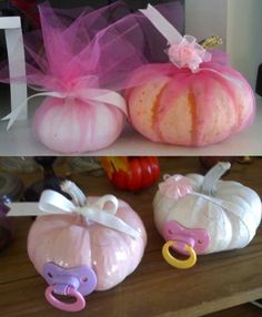 Love these fall baby shower ideas