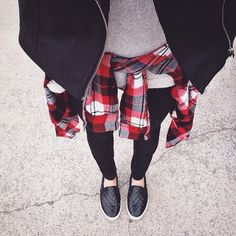 """""""Oh #plaid how do I love thee?  #iweargarage"""""""