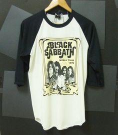 Black Sabbath heavy metal singer band 3/4 sleeve by CuteClassic, $16.00