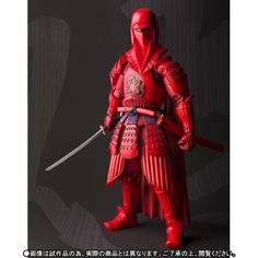 P-Bandai x Star Wars 名将MOVIE REALIZATION 赤備え ROYAL GUARD: No.10 Official Images, Info Release http://www.gunjap.net/site/?p=271357