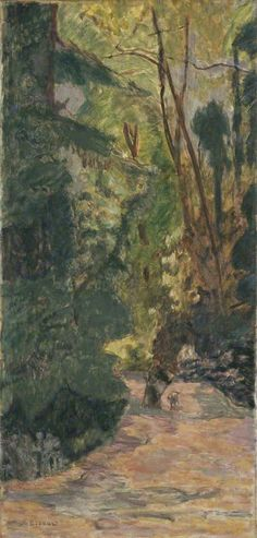 A Path in the Forest 1919 Bonnard Oil on canvas ART UK