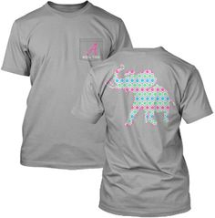 Multi-Colored Honeycomb Pachyderm Collection Comfort Color Pocket Tee