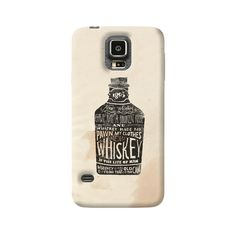 Whiskey Samsung Galaxy Case from Cyankart Samsung Galaxy S5, Whiskey, Give It To Me, Phone Cases, Cover, Whisky, Phone Case
