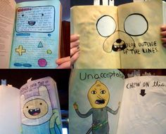 Adventure Time AND Wreck This Journal!