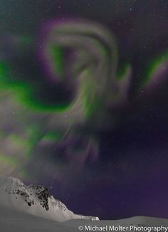 Northern Lights Ram over Vik, Iceland by Michael Molter - Photo 160875253…