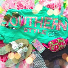 #Dearsouthernshirt Southern Shirt Co. Lilly Pulitzer Jack Rodgers Photo creds: Megan mcnulty