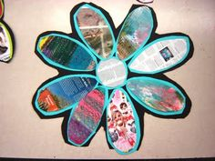 3rd grade recycled daisies
