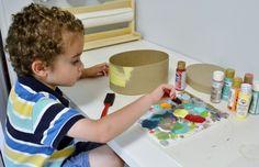 Easy kids craft: decoupage treasure box - Mod Podge Rocks