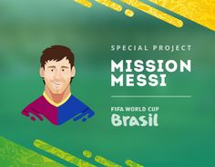 Mission Messi - special project by Bigpicture.ru about FIFA World Cup 2014 in Brazil