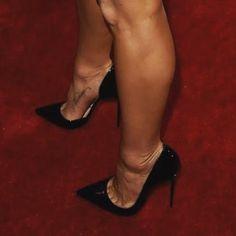 "'LOU BOUTOIN' ""SoKate"" Stiletto High Heels THG #highheelbootsoutfit #strappystilettoheels #pumpheels"