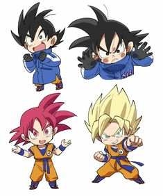 Goku Styles in Dragon Ball Super Broly - Goku Styles in Dragon Ball Super Broly - Anime Chibi, Goku Chibi, Anime Kawaii, Manga Anime, Dragon Ball Image, Dragon Ball Gt, Dragon Star, Ball Drawing, Dragon Pictures