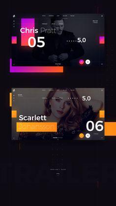 Infinity War - Web Site Concept Design on Behance Website Design Layout, Web Layout, Layout Design, Web Ui Design, Page Design, Photoshop, Responsive Layout, Ui Design Inspiration, Ui Web