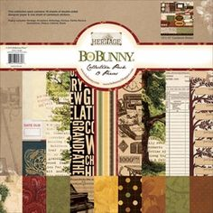 "Bo-Bunny Collection Pack 12""x12"" - Heritage - Click to enlarge"