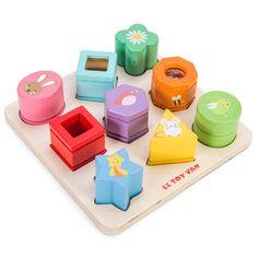 Le Toy Van puslespil med 9 klodser