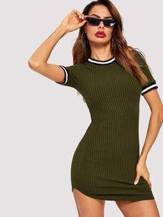 4958d2c4d640 Missguided - Plus Size Navy Lace Trim Tea Dress