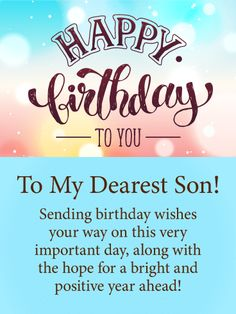 162 Best Happy Birthday Son Images