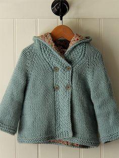 baby sweater coat diy - Google Search