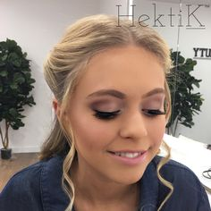 Debutante - special occasion makeup More