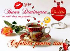 Messages, Kiss, Tableware, Coffee Time, Pictures, Bom Dia, Dinnerware, Tablewares