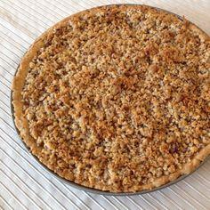 Rezept Apfel- oder Pflaumenkuchen mit Nuss-Streuseln von Heike Fliß - Rezept der Kategorie Backen süß