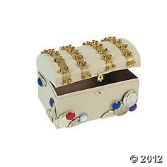 How To Decorate A Treasure Box Make A Shell Craft Treasure Box  Treasure Boxes Shell And Activities