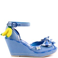 Moniterrey heels Cobalt brand heels Miss L Fire