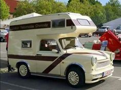 Trabant camper...Re-Pin brought to you by #RVInsurance agents at #HouseofInsurance Eugene