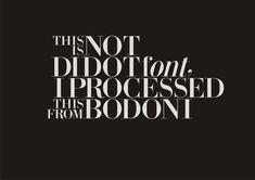 Bodoni-Didot by InstantGraphic.deviantart.com on @deviantART