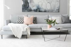 What is it about Scandinavians that makes their style so effortless? These 12 gorgeous spaces display the region's inspired take on minimalist decor. Scandinavian Minimalist Living Room, Modern Scandinavian Interior, Minimalist Home Decor, Minimalist Interior, Modern Minimalist, Home Room Design, Interior Design Living Room, Living Room Designs, Cafe Interior