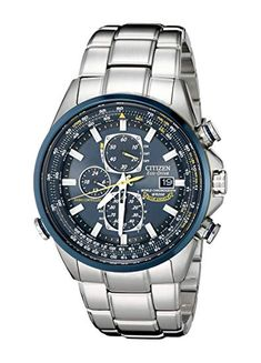 Amazon.com  Citizen Men s AT8020-54L Blue Angels Stainless Steel Eco-Drive  Dress Watch  Watches 117409608e8