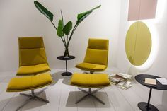 Yellow armchair with