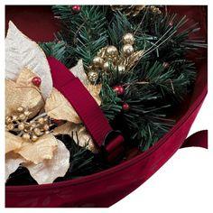 Wreath Storage Bag- large, Red