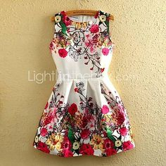 Add some colors to your look! Wear this adorable short dress! Like it? click on the picture to get it!