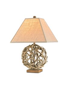 driftwood lamp/1800 lighting.com