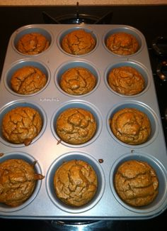 THM Recipe: Peanut Butter Muffins (S). Made these for breakfast a few days ago and the whole familia loved!!